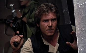 Han Solo Blaster Auction