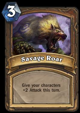 savage roar