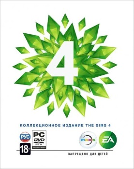 The Sims 4 Russian cover