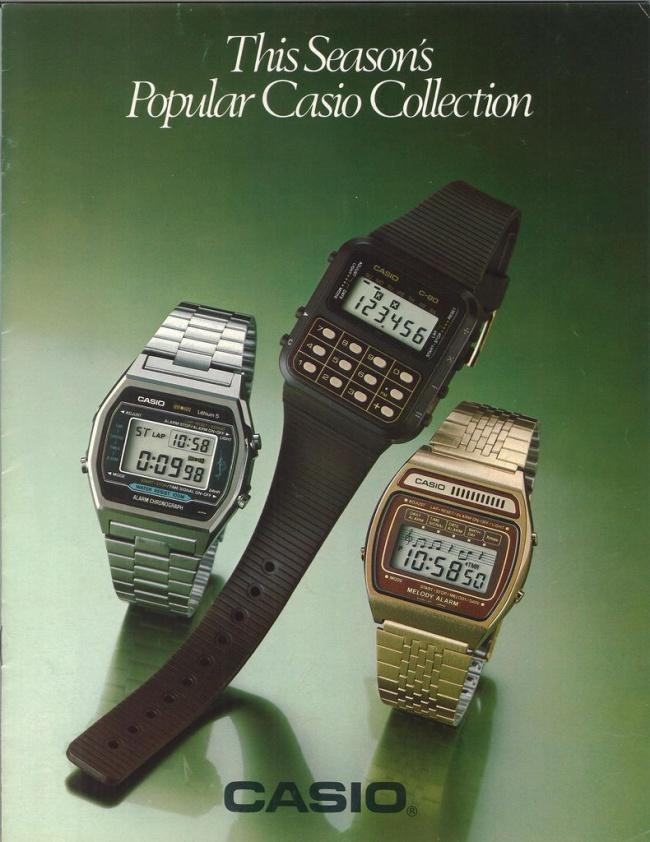Casio C-80 Calculator Watch