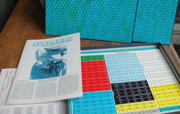 submarine board game