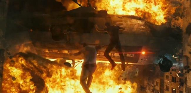 die hard trailer explosions