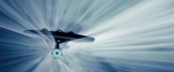 Star Trek Enterprise at Warp