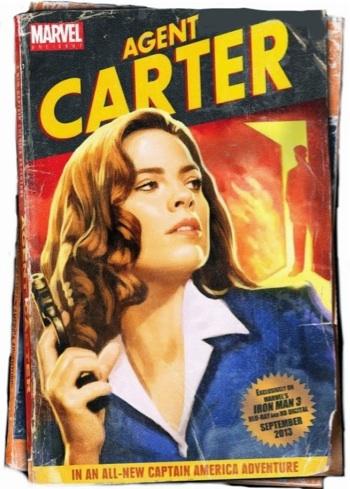 Agent Carter Marvel One Shot promo