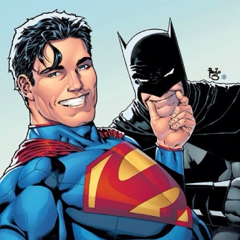 Batman Superman Selfie
