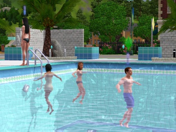 the sims 3 pool