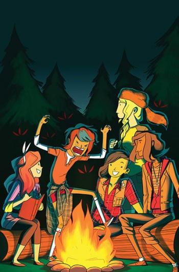 Lumberjanes 4 cover