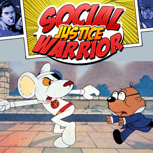 social justice warrior dangermouse 3x3