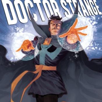 doctor strange comic cover 350