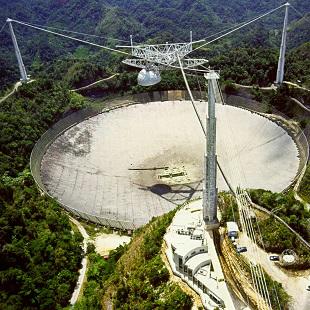 Arecibo radio telescope 310x