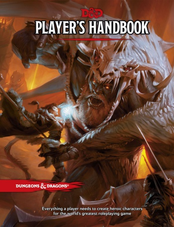 D&D 5th Edition players handbook cover