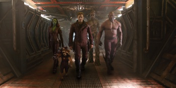 Guardians of the Galaxy Walk