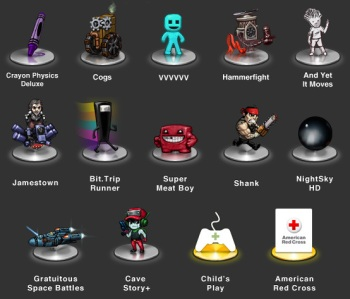 Humble Indie Bundle 4 collection