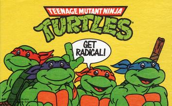 Ninja Turtles Radical