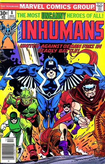 inhumans comic