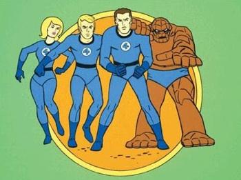 marvel fantastic four cartoon 1966