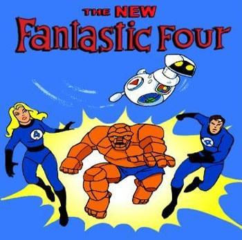 marvel fantastic four cartoon 1978