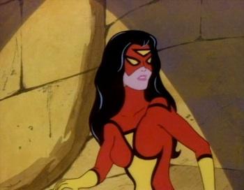 marvel spider-woman cartoon