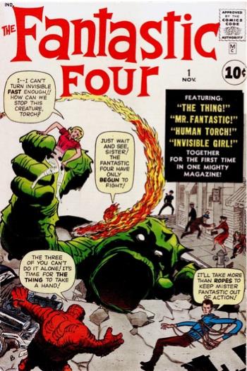 classic fantastic four cover