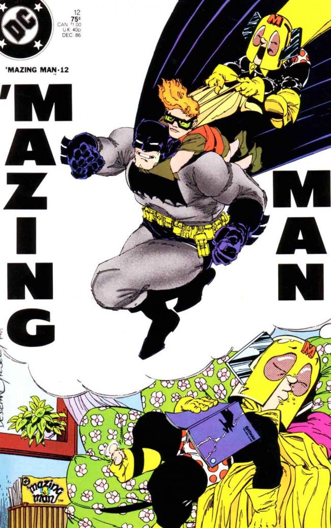Mazing Man 12