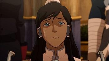 korra crying in wheelchair - legend of korra book three finale