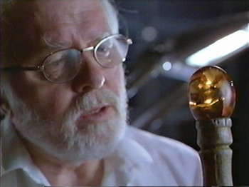 Richard Attenborough as john hammond from jurrasic park