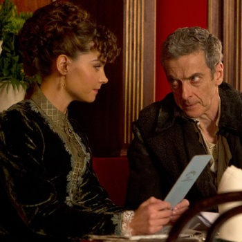 doctor who s8 ep1 clara doctor