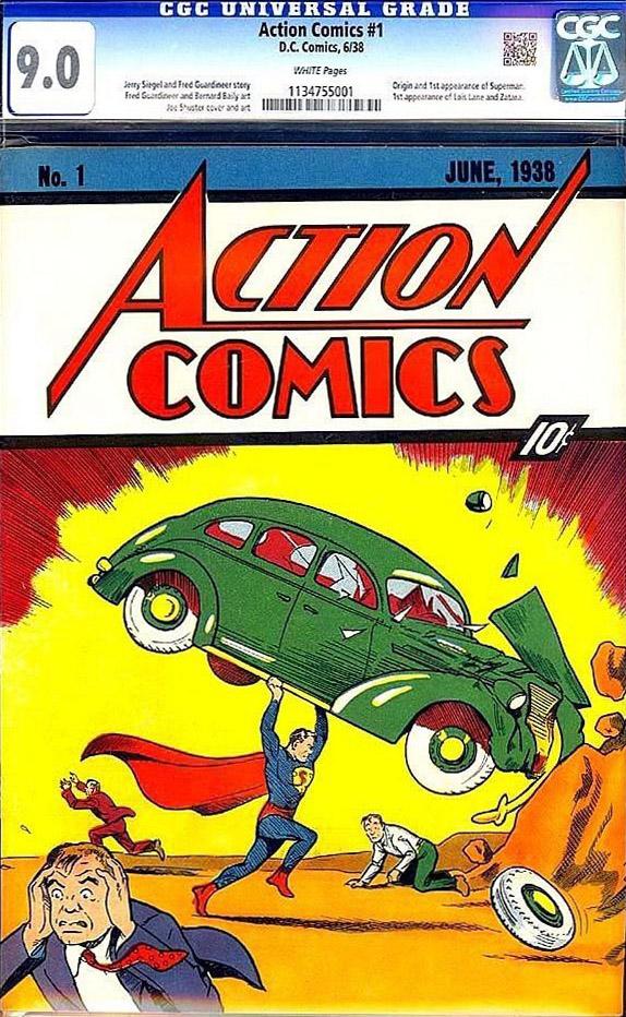 Action Comics #1 9.0 CGC