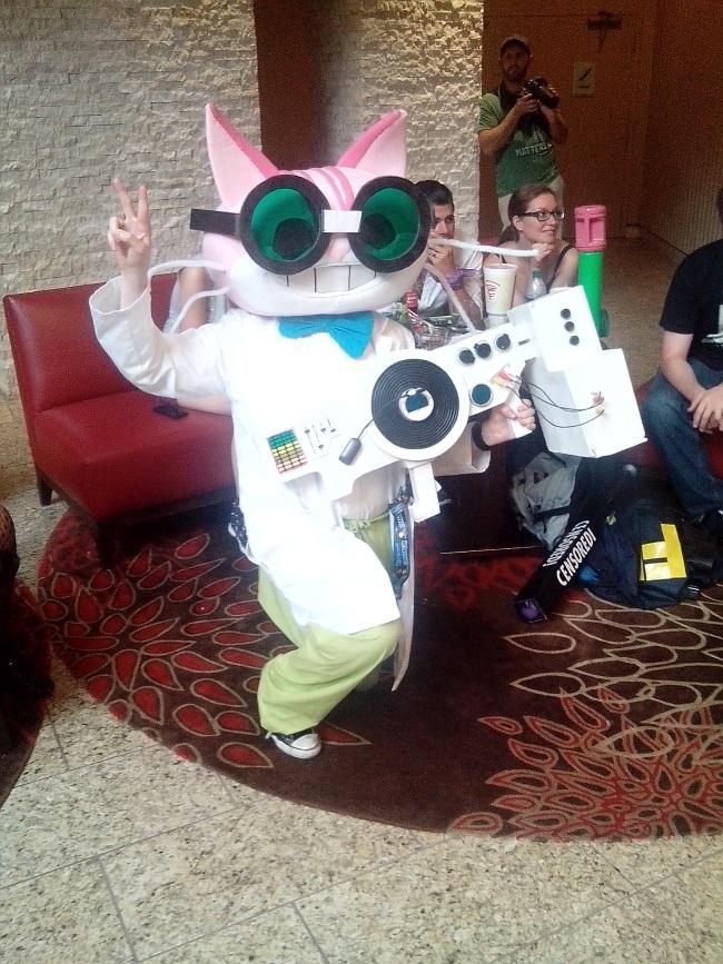 professor genki cosplay