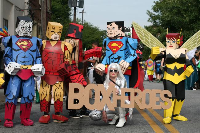 dragoncon parade box heroes