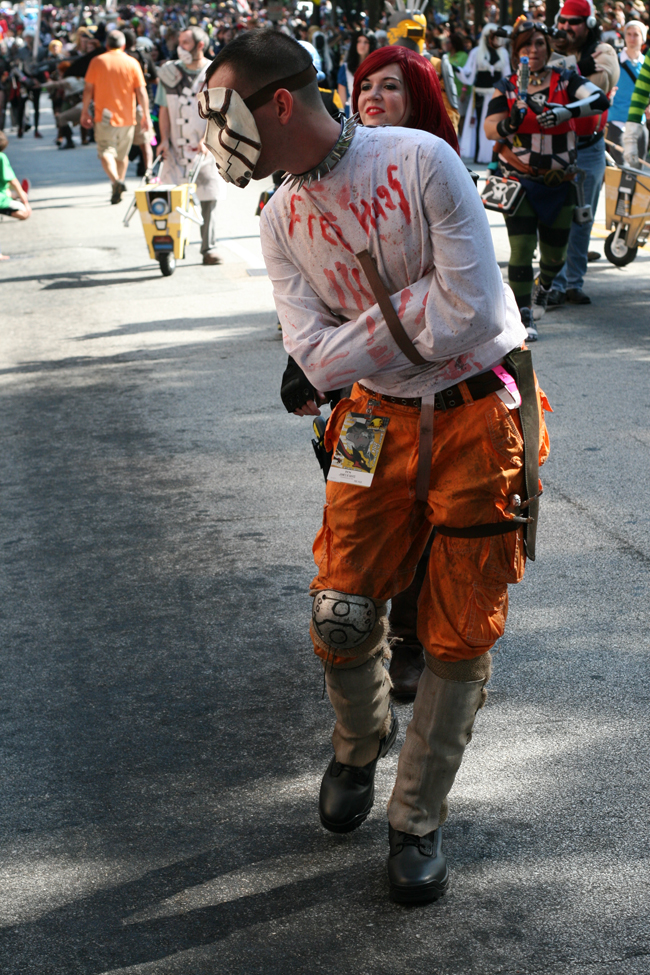dragoncon parade borderlands psycho