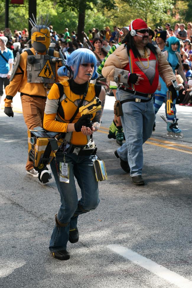 dragoncon parade borderlands maya
