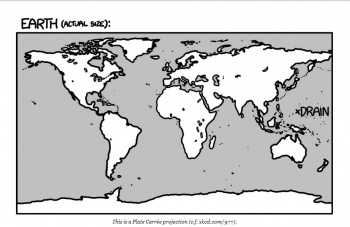 Drain the Earth Caption XKCD
