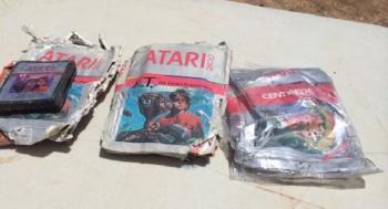 Atari cartridge dig