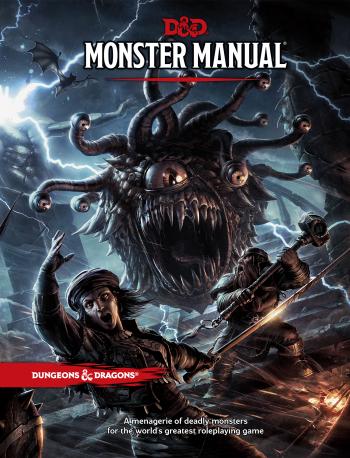 Monster Manual Cover Art High Resolution