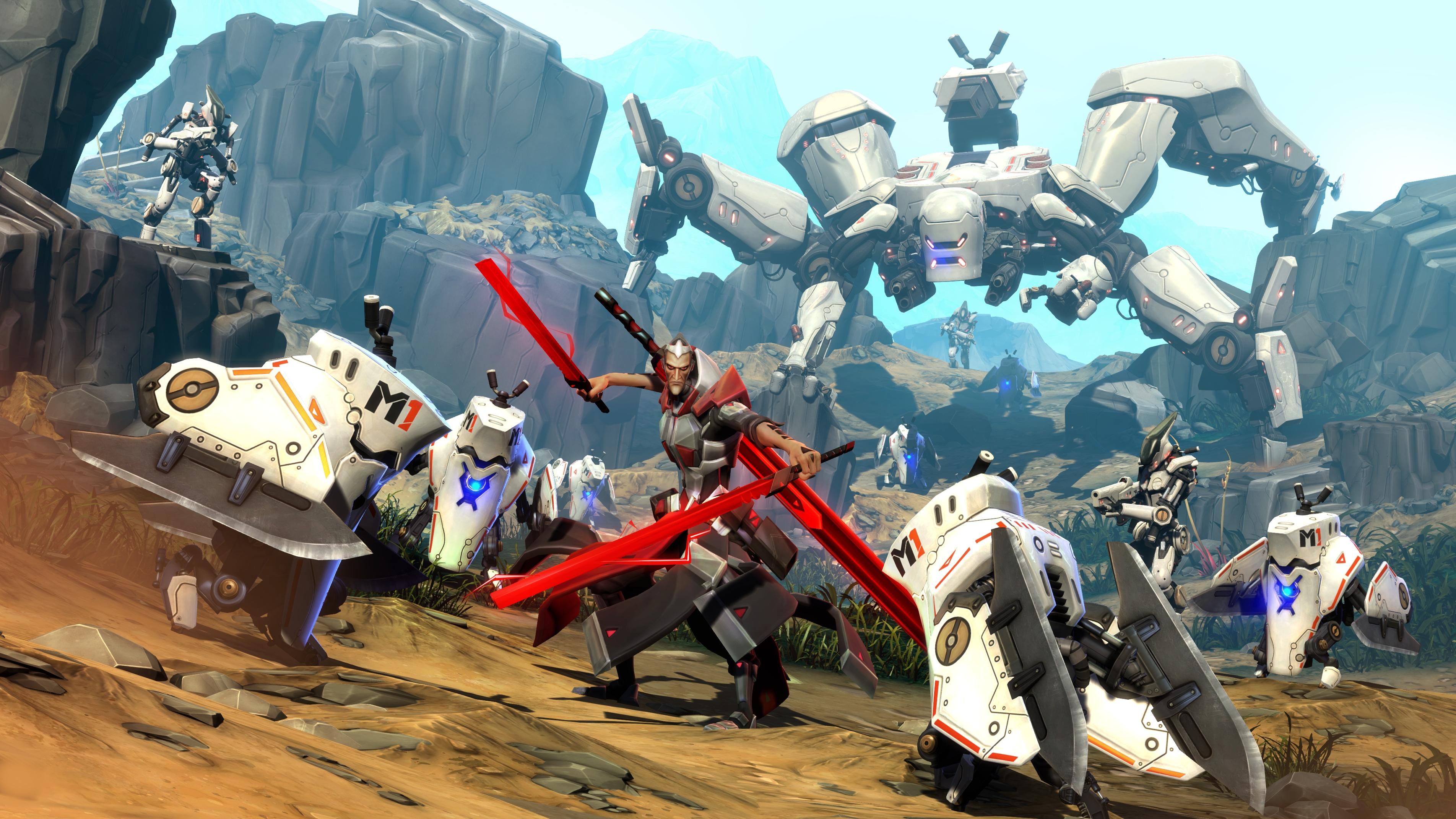 battleborn screenshot - campaign rath ambush