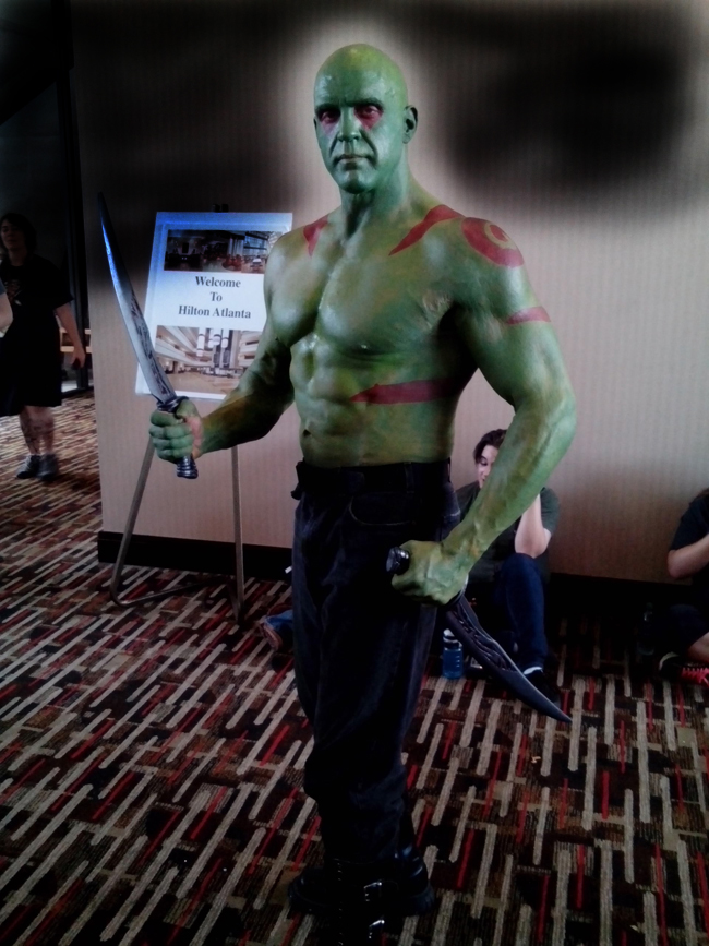 cosplay marvel drax2