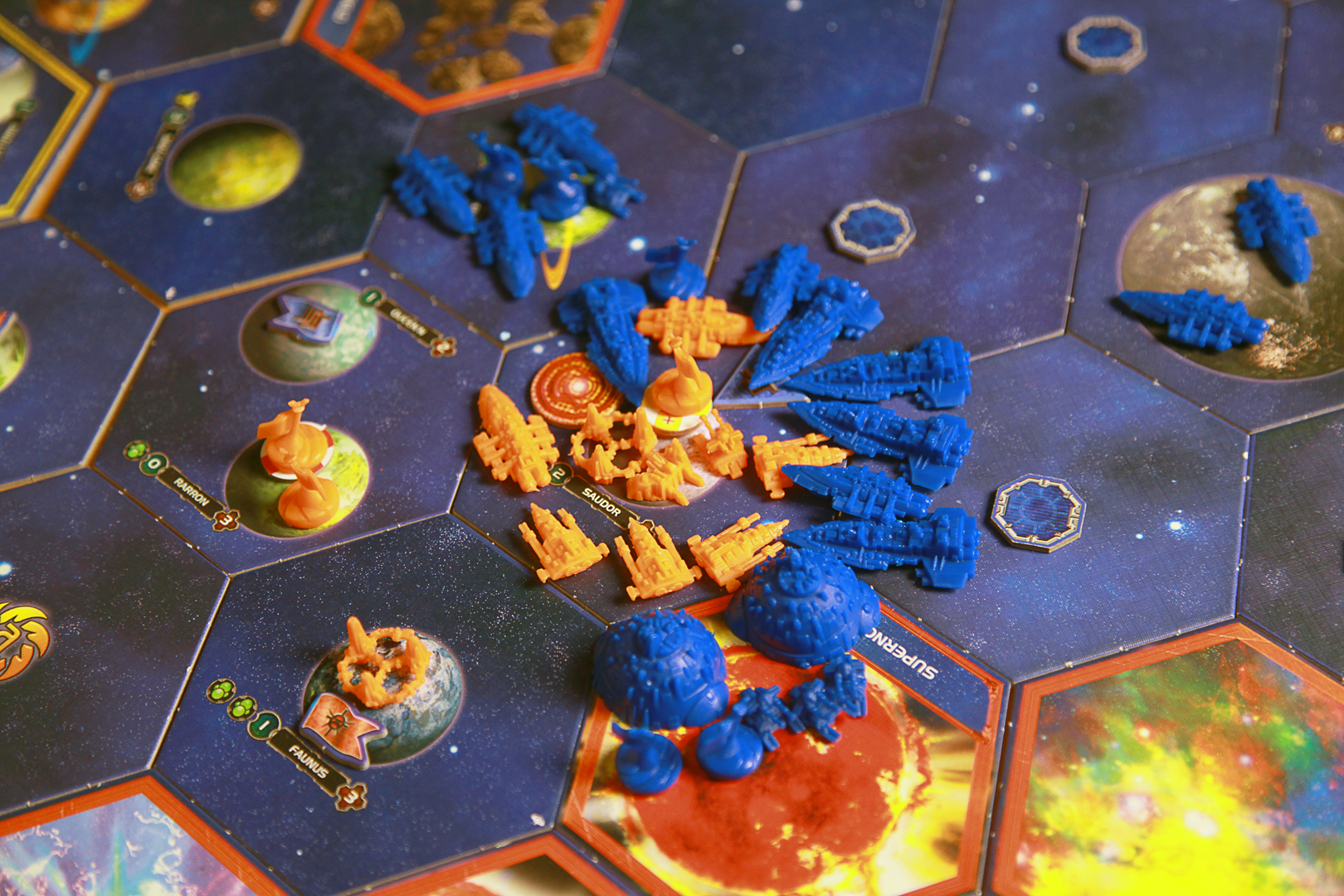 The destruction of the last Sardokk Fleet.
