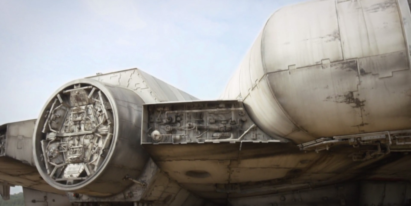 Star Wars Episode VII Millennium Falcon