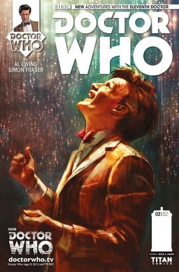 Doctor Who Eleventh Doctor Issue 2