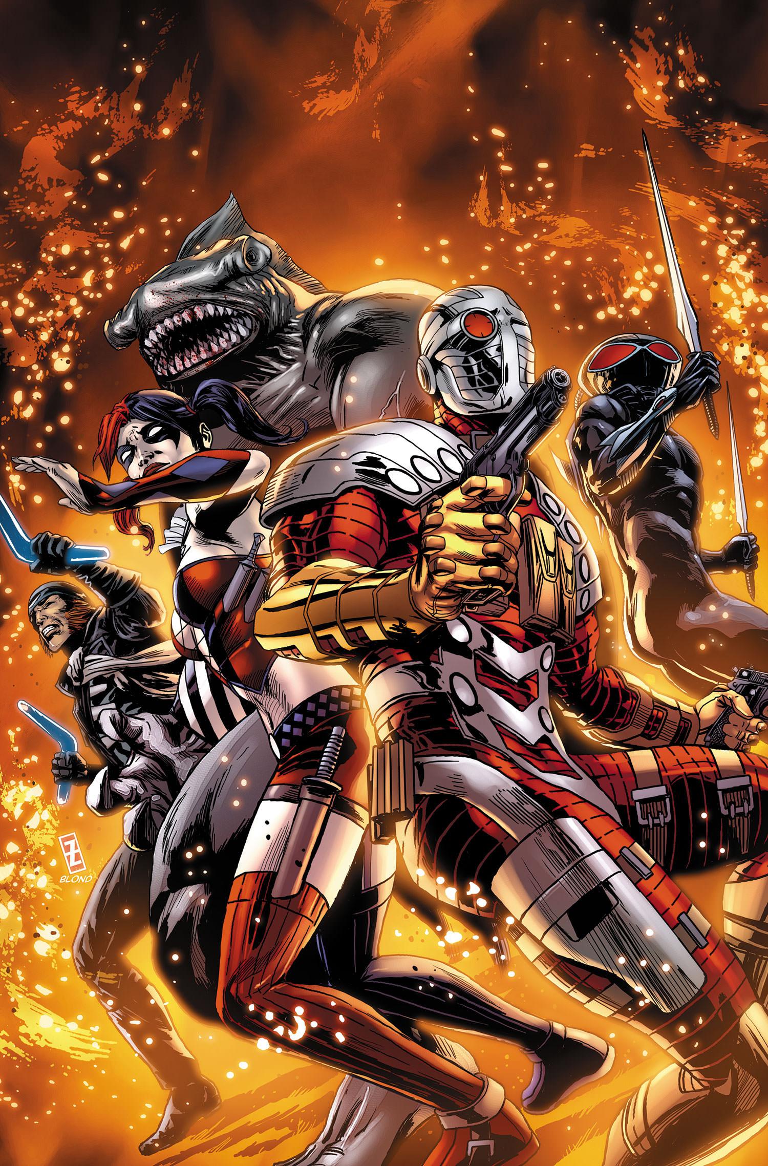 Suicide Squad #30 cover
