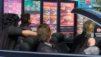 Final Fantasy XV car meme