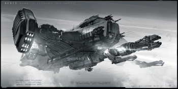 star citizen spaceship concept art