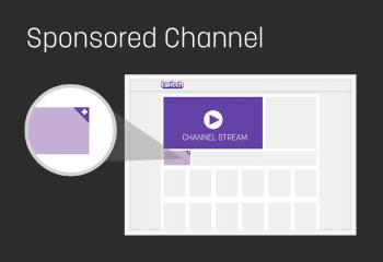 Sponsored Twitch Channel