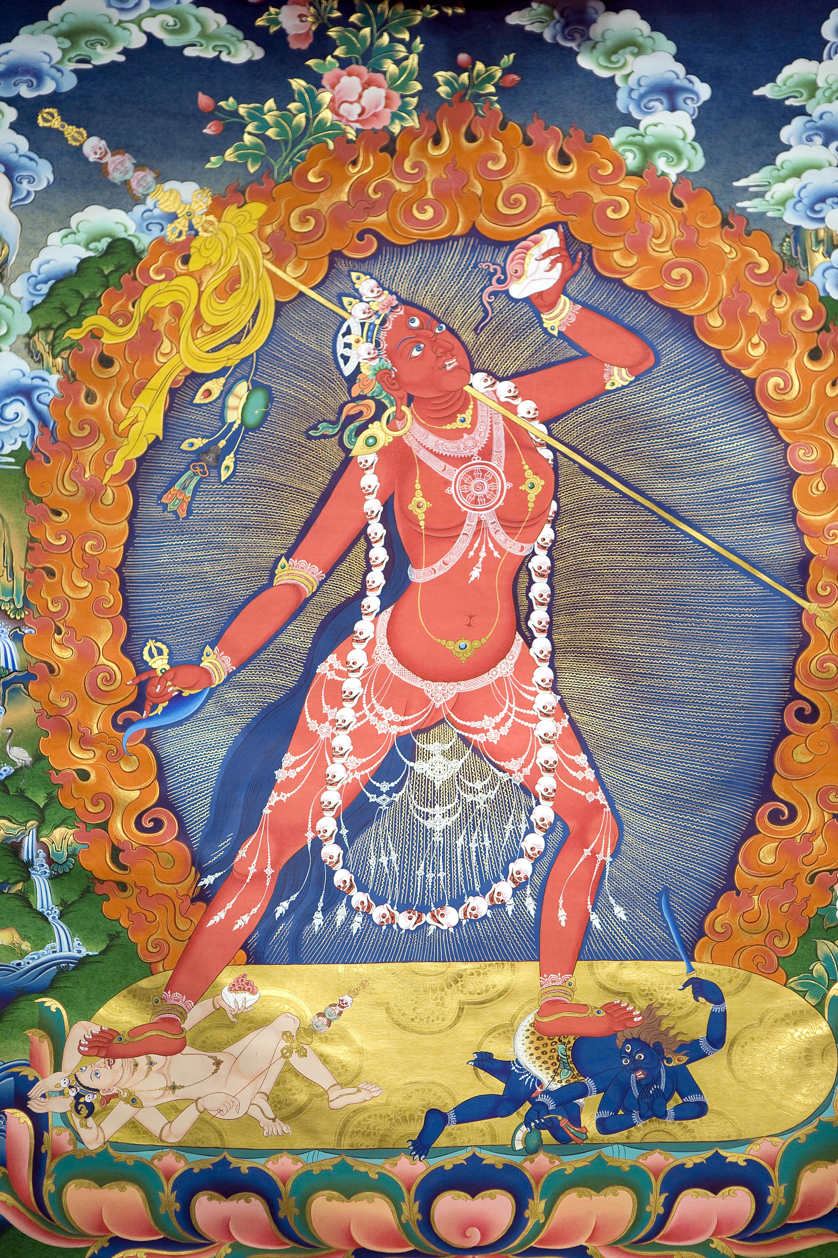 The goddess Vajrayogini