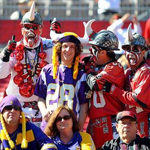 Football Fans From NFL Fan Day