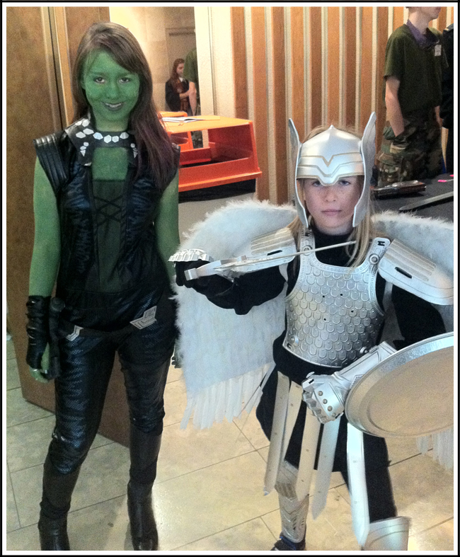 gamora and angel