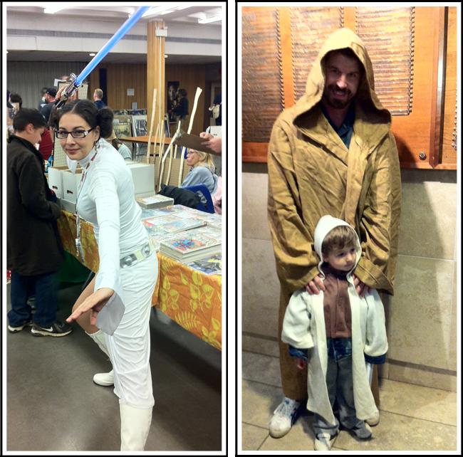 jedi and son and jedi leia