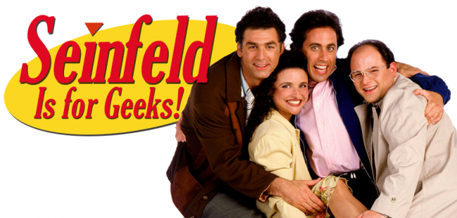 Seinfeld Is for Geeks social