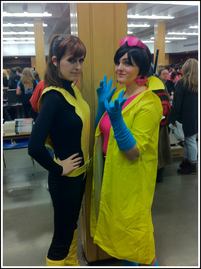 x-man and jubilee